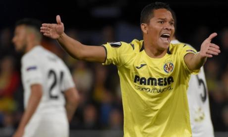 El Villarreal de Carlos Bacca cayó ante Valencia en Europa League