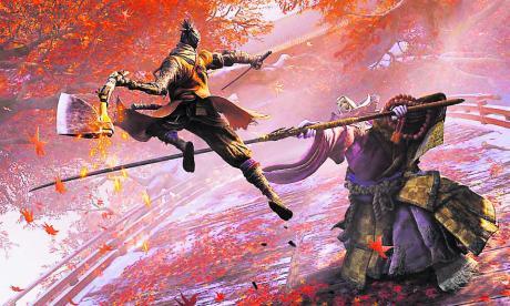 Sekiro: Shadows Die Twice es el último videojuego estilo 'souls', inspirado en la saga Dark Souls, famosos por su dificultad elevada.