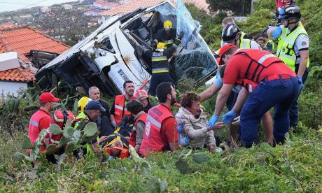 Accidente en Portugal deja al menos 29 muertos