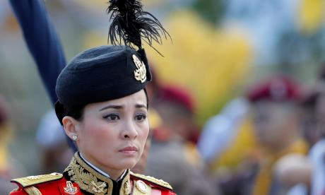 Suthida,  la azafata que ahora es reina de Tailandia