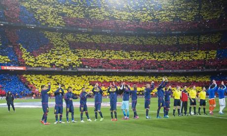 Estadio Camp Nou.