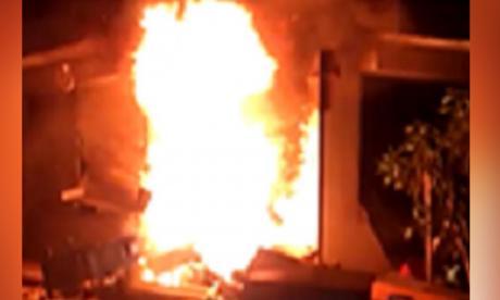 Tras protestas queman sede de Electricaribe en Chimichagua