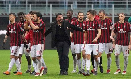Gattuso deja de ser el entrenador del Milan