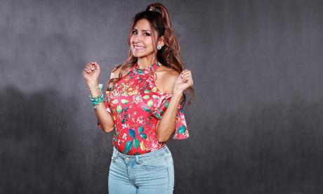 Aida Bossa en el personaje  de Patty.