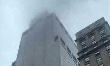 En video   Un muerto en aterrizaje brutal de helicóptero en Manhattan
