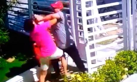 En video   Supuesto domiciliario mata a empleada en El Limoncito
