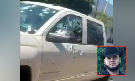 Matan de más de 100 tiros a cantante de narcocorridos tras salir de un funeral