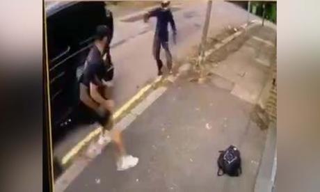 En video   Queda registrado intento de robo a Özil y Kolasinac en Londres