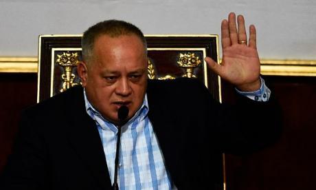 El dirigente oficialista Diosdado Cabello.