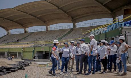 Obras de los Juegos Nacionales 2019 van bien: Alcaldía de Cartagena