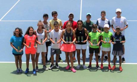 Mejía y Franco, ganadoras en el Nacional de tenis