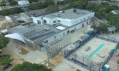 El Paso Ciudadela 20 de Julio ya está en su etapa final de construcción.