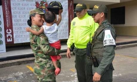 Rescatan menor de edad indígena secuestrado por disidentes de FARC