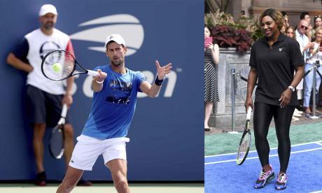 Djokovic y Serena, los favoritos en el US Open
