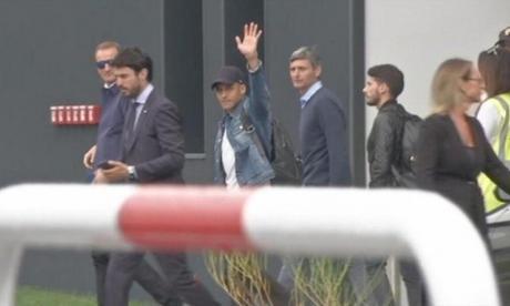 En video   Alexis Sánchez llega a Milán para firmar con el Inter
