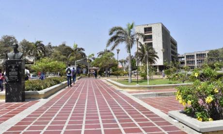 Vista de la Universidad del Atlántico sede norte.