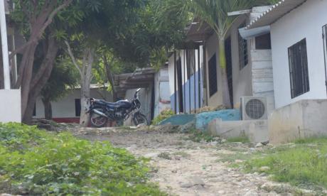 Sector del barrio Me Quejo donde se registró el ataque a bala.