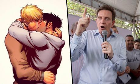 Alcalde de Río no podrá censurar cómic de Marvel que muestra beso gay