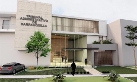 En la Vía 40 quedará  la sede del Tribunal Administrativo