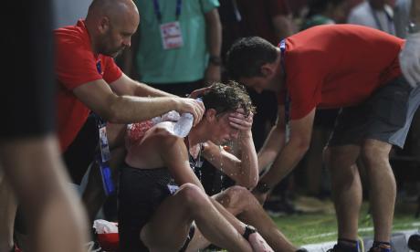 Las altas temperaturas causan discordia en Mundial de atletismo