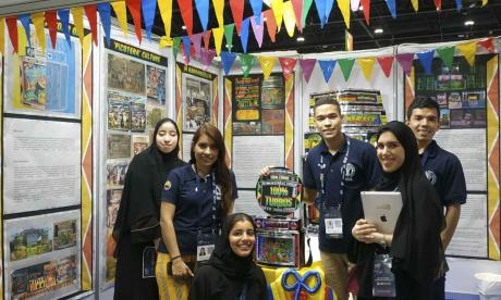 Universitario llevó la cultura picotera a Emiratos Árabes