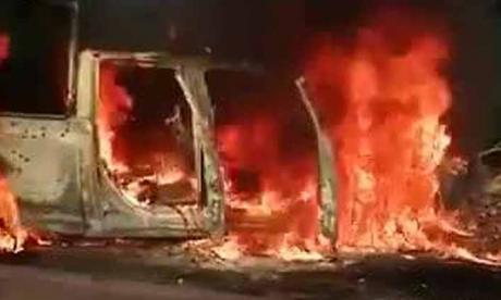 En video | Emboscada deja al menos 14 policías muertos en México