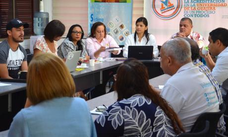 Reunión del Consejo Superior de la Universidad de La Guajira.