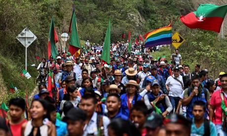 Bastón en mano, guardias indígenas claman por unidad ante asesinatos