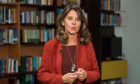 Martha Lucía Ramírez, vicepresidenta de Colombia.