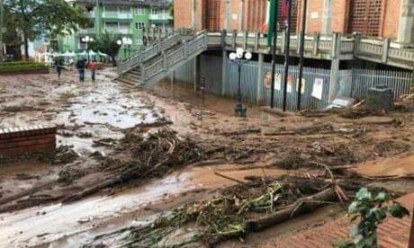En video   Emergencia en Jericó, Antioquia, tras inundaciones: van 1.000 personas evacuadas