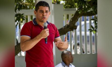 Alcalde de Puerto Colombia, Steimer Mantilla.