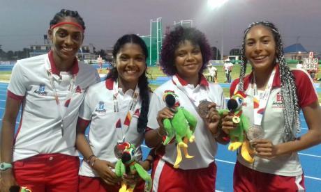 Atlántico logra dos bronces en prueba de relevo de atletismo