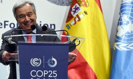 La COP25 abre con llamados urgentes a salvar la humanidad