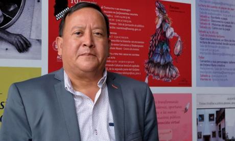 El antropólogo Weildler Guerra apoyará reestructuración del Amira De la Rosa