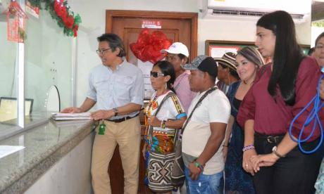 Familias indígenas del sur de Córdoba instauran demanda ante Restitución de Tierras