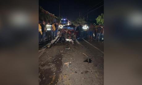 Muere pareja de esposos en accidente de tránsito en La Guajira