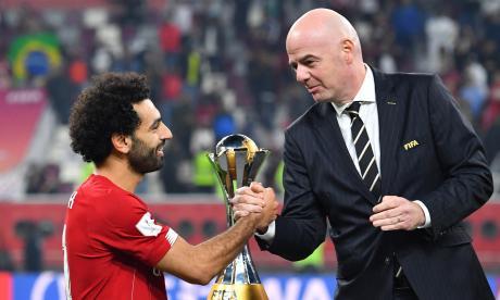 Salah es elegido mejor jugador del Mundial de Clubes