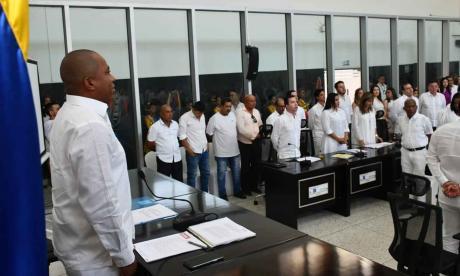 En video | Diputados electos del Atlántico toman posesión en la Asamblea