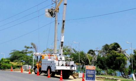 Por labores correctivas, luz volverá a las cinco de la tarde en Campo de la Cruz
