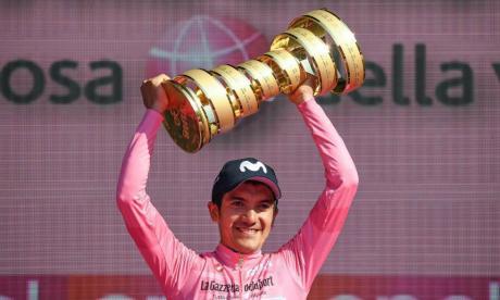 Carapaz, campeón del Giro de Italia, disputará el Tour Colombia