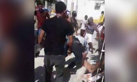 Comunidad propina brutal golpiza a un supuesto ladrón en Cartagena
