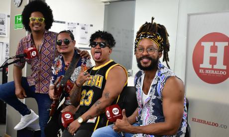 Bazurto All Stars se lanzó 'Pa lante' en Sesiones EH