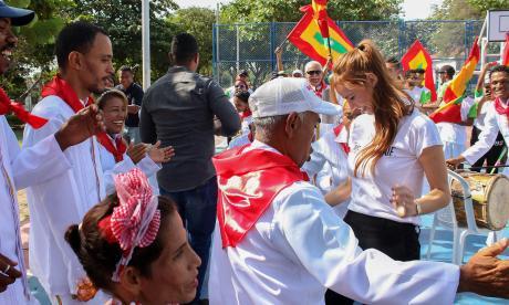 Alcalde Pumarejo y primera dama bailarán con comparsa de exhabitantes de calle en La Guacherna