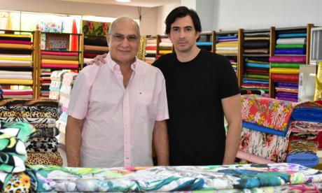 William Chams se reinventa en el mercado textil