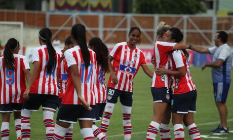 Junior, en el grupo A de la Liga Femenina de Fútbol