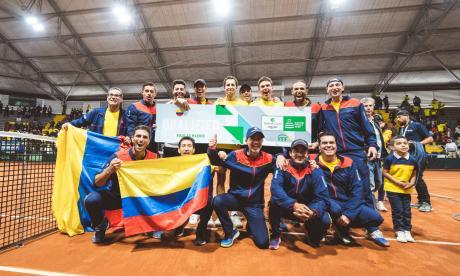El equipo colombiano eliminó a la Argentina en Bogotá.