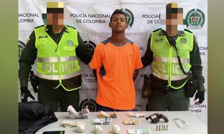 Yeison Fernando Fonseca, capturado.