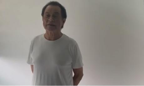 Alfredo Gutiérrez sufrió un accidente casero