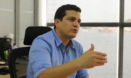Irvin Pérez Muñoz, presidente de Corporación de Turismo de Cartagena de Indias.