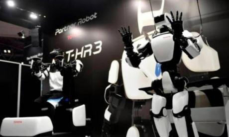 En Japón, crearán robots remotos que faciliten limitar el contacto humano